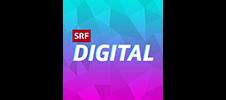 SRF Schweizer Radio und Fernsehen digital logo