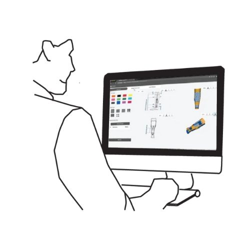 step 2: insert measured parameters into an online configurator